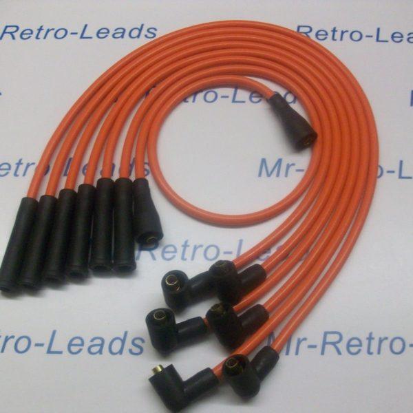 Orange 8mm Performance Ignition Leads For Ford Capri 2.8 Cologne V6 Quality Lead