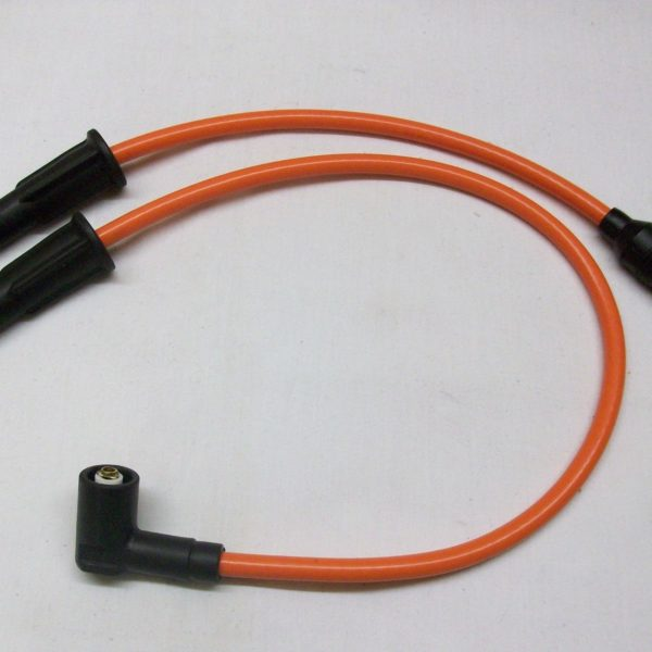 Orange 8mm Performance Ignition Leads Victory Hammer 106 100 92 Hand Built Leads