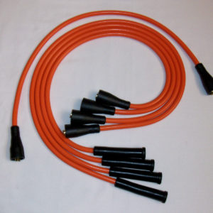 Orange 8mm Performance Ignition Leads To Fit. Lotus Elan Cortina Twin Cam Escort