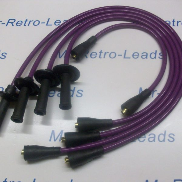 Purple 8mm Ignition Leads To Fit Vw Transporter Camper T1 T2 Bus Air Cooled 1600