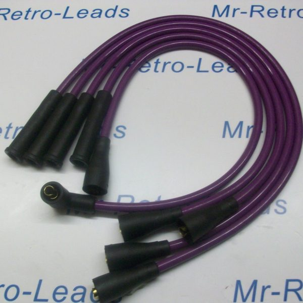 Purple 8mm Ignition Leads Will Fit Vw Golf Mk2 1.3 1.6 1.8 Gti Mk3 1.6i 1.8i Ht