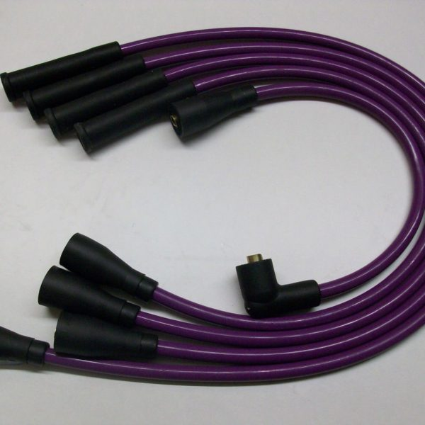 Purple 8mm Performance Ignition Leads Will Fit.. Ford Fiesta Mk1 950 1.1 Quality