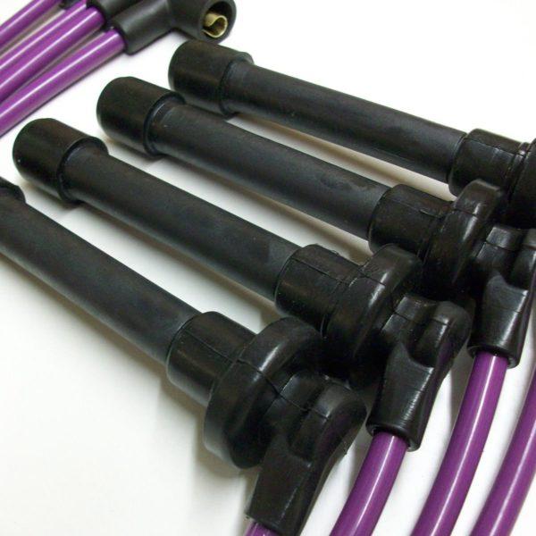 Purple 8mm Performance Ignition Leads Will Fit.. Honda Crx 1.6i Vti Mkiii Targa