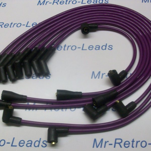Purple 8mm Performance Ignition Leads Rover Sdi 3.0 V8 Hand Built Leads Quality