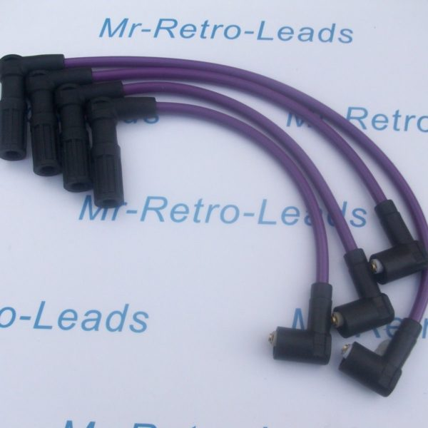 Purple 8mm Performance Ignition Leads For Fiat Punto 1.4 Gt Turbo Facet Quality