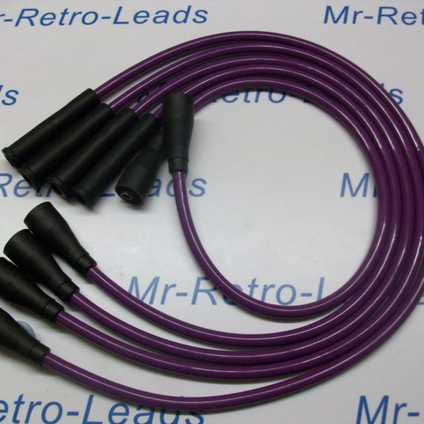 Purple 8mm Performance Ignition Leads To Fit. Ford Escort Mk2 Mk3 Fiesta Mk1 Mk2