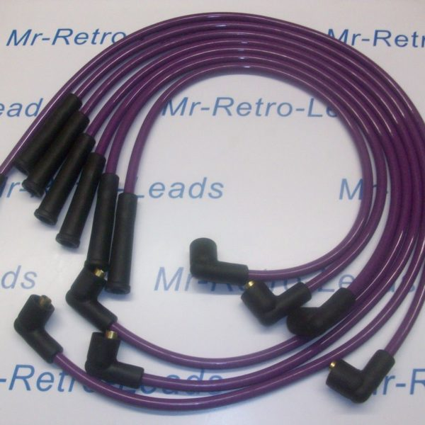 Purple 8mm Performance Ignition Leads Will Fit.. Reliant Scimitar V6 Essex Tvr