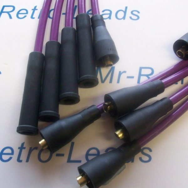 Purple 8mm Performance Ignition Leads Will Fit Escort Rs1600 Xr3 Xr3i Fiesta Xr2