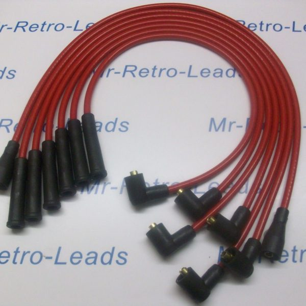 Red 8.5mm Performance Ignition Leads Will Fit Ford Capri 2.8 Cologne V6 Quality.