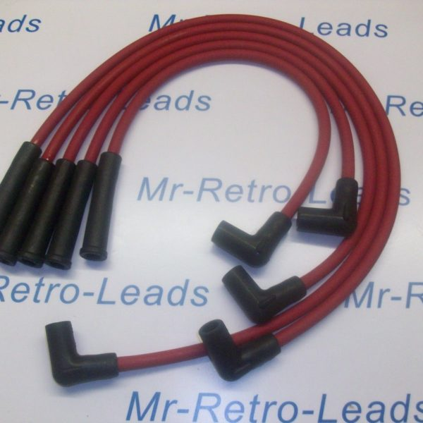Red 8.5mm Performance Ignition Leads For Racing Vauxhall Nova 1.3 1.4 Hei Cap Ht