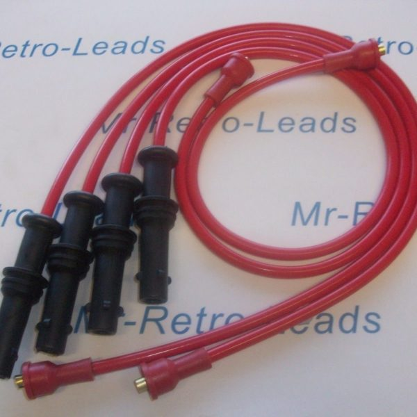 Red 8.5mm Performance Ignition Leads Will Fit Subaru Impreza 2.0 Awd 16v Quality