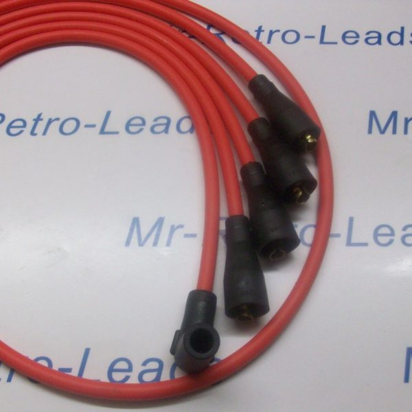 Red 8mm High Performance Ignition Leads Will Fit Renault 5 Gt Turbo Quality Ht