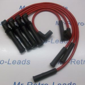 Red 8mm Ignition Leads Will Fit. Peugeot 309 405 1.9 Mi16 16v Bx19 Citroen 16v .