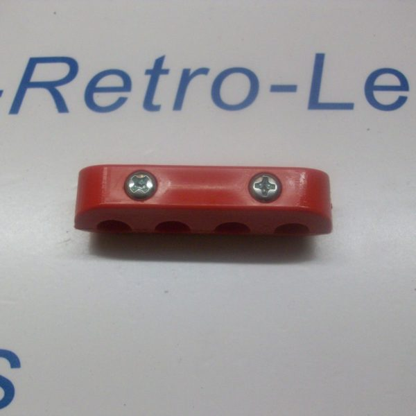 Red 8mm Ignition Lead Ht Clip Holder Separator Clamp Holder Spacer Kit 4 Way