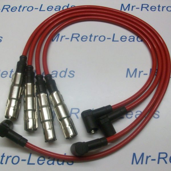 Red 8mm Performance Ignition Leads Seat Ibiza 1.4 Arosa 1.4 High Quality Leads..