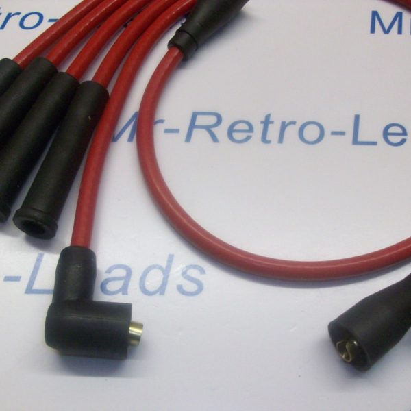 Red 8mm Performance Ignition Leads For Triumph Tr7 Late Type Quality Leads Ht..