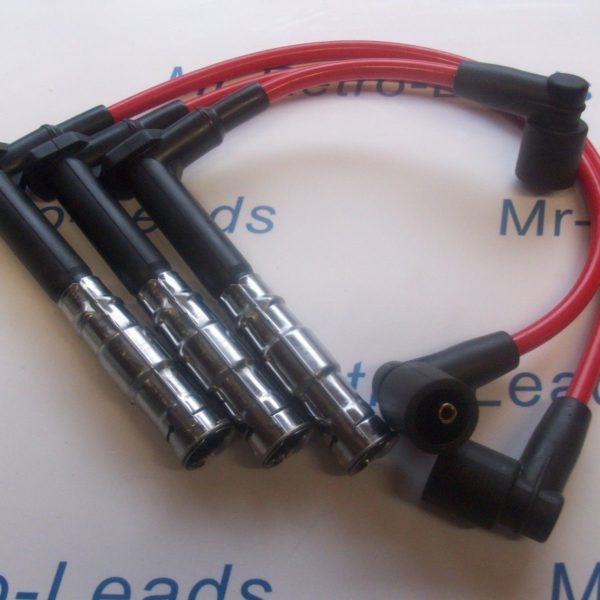Red 8mm Performance Ignition Leads For Mercedes 320 280 Sl C E G S M104 Ht Lead