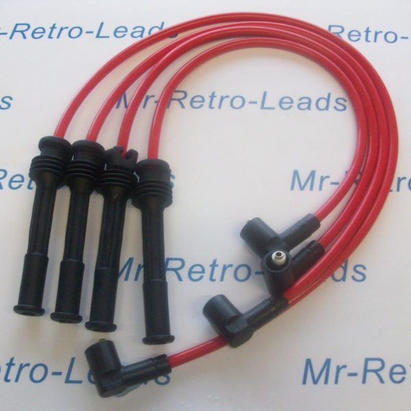 Red 8mm Performance Ignition Leads Renault Clio Mk11 2.0 16v Sport Fiat Punto