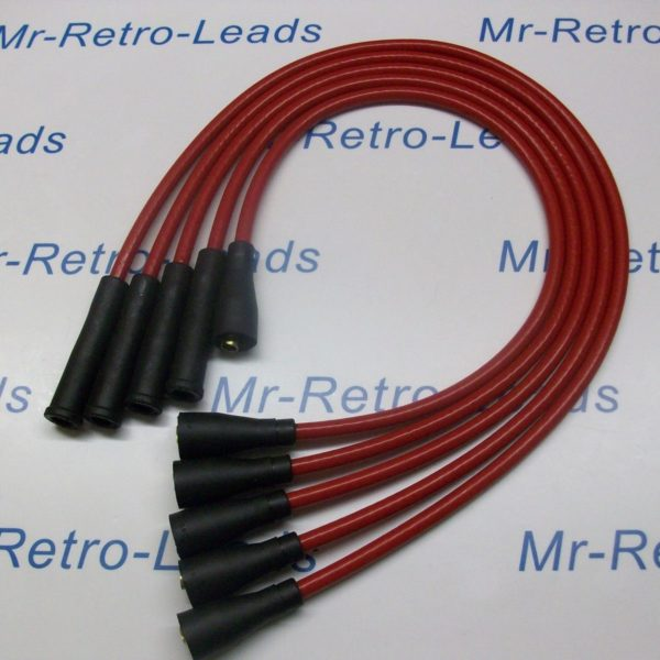 Red 8mm Performance Ignition Leads Will Fit.. Ford Escort Mk2 Mk3 Fiesta Mk1 Mk2