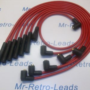 Red 8mm Performance Ignition Leads Will Fit.. Reliant Scimitar V6 Essex Tvr Ht