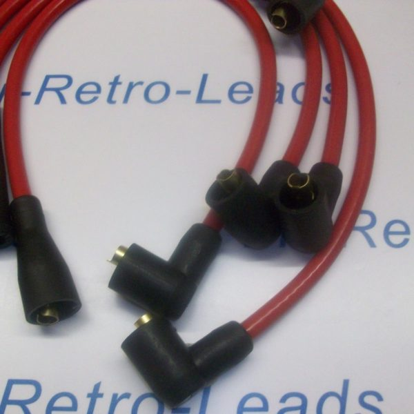 Red 8mm Performance Ignition Leads Will Fit Opel Manta Quality Hand Built Leads.