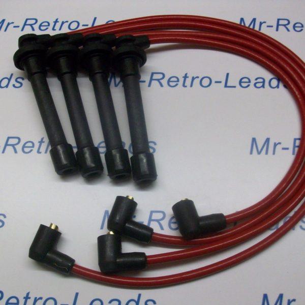 Red 8mm Performance Ignition Leads Will Fit Honda Crx 1.6i Vti Mkiii Targa  Ht