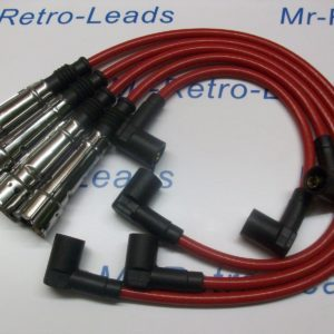Red 8mm Performance Ignition Leads To Fit. Porsche 924 Gt 2.0 Turbo Hand Built