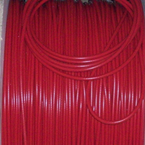 Red 8mm Performance Ignition Leads Wrangler Jeep Cj7 2.5 4-cyl Quality Ht Leads