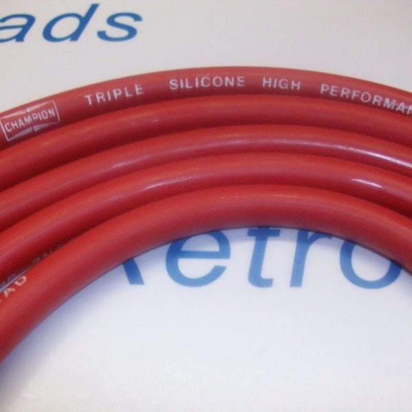 Red 8mm Triple Silicone Performace Ignition Leads Mini Austin Bl Your Show Mini