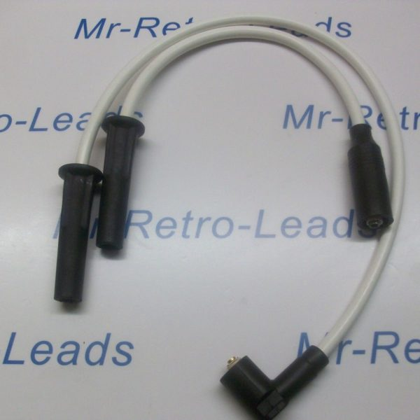 White 8mm Performance Ignition Leads Victory Hammer 106 100 92 Hand Built Leads