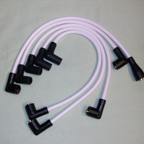 White 8mm Performance Ignition Leads Mgb 1974 > 1981 Quality Built Ht Leads....