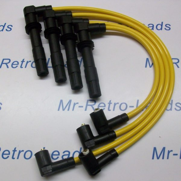 Yelloe 8mm Performance Ignition Leads Fits Vw Lupo 1.6 Gti 1.4 16v Quality Leads