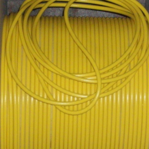 Yellow 8mm Extra Long Ignition Coil Lead Ht From  50s 70s  And More 1 Meter Long