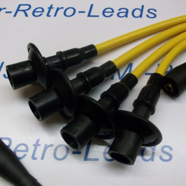 Yellow 8mm High Performance Ignition Leads Will Fit Vw Beetle & T2 1968-1979. Ht