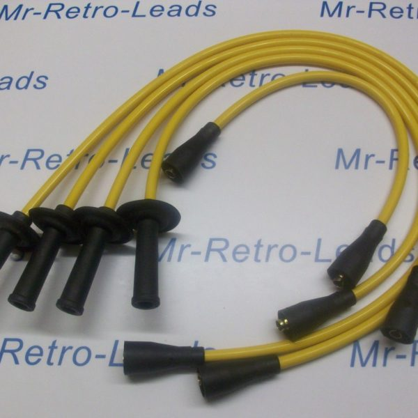 Yellow 8mm Ignition Leads To Fit Vw Transporter Camper T1 T2 Bus Air Cooled 1600