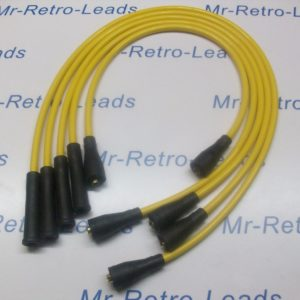 Yellow 8mm Performance Ignition Leads To Fit Ford Capri 1.6 2.0 Ohc Cortina P100
