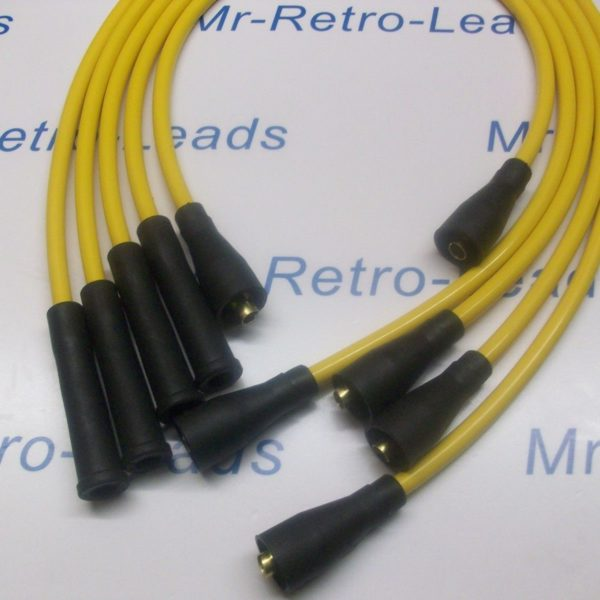 Yellow 8mm Performance Ignition Leads Will Fit Escort Rs1600 Xr3 Xr3i Fiesta Xr2