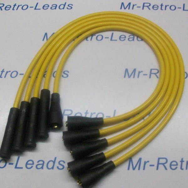 Yellow 8mm Performance Ignition Leads Will Fit. Ford Fiesta Mk1 950 1.1 Quality