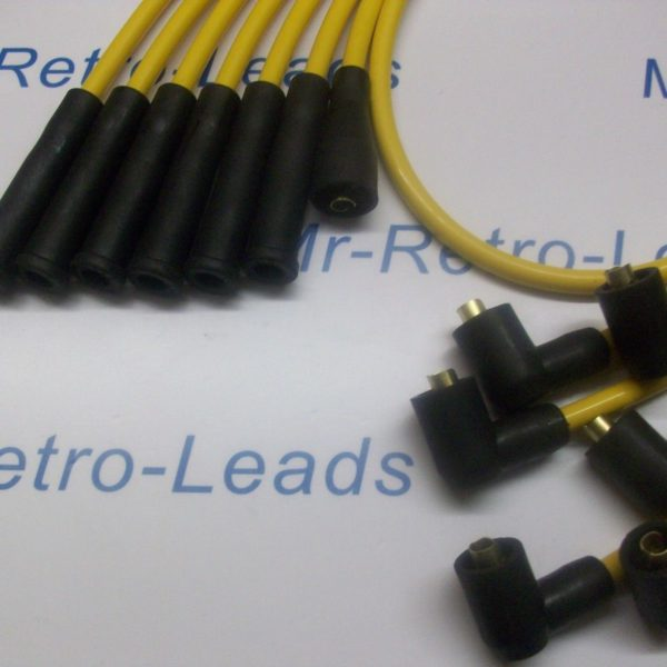 Yellow 8mm Performance Ignition Leads For Ford Capri 2.8 Cologne V6 Quality Lead