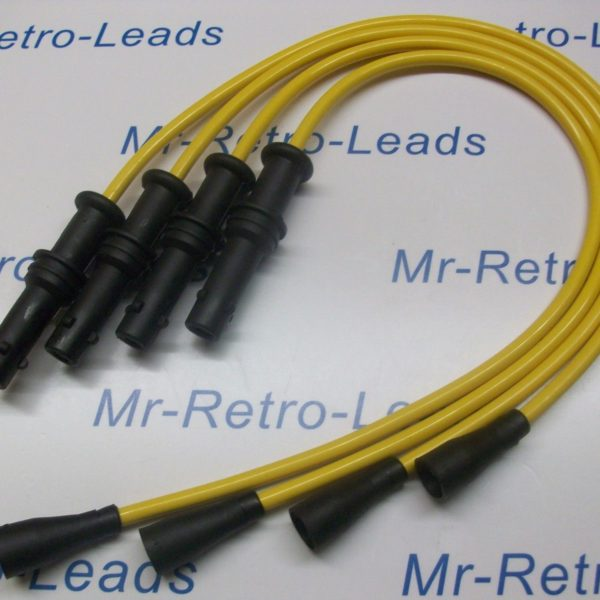 Yellow 8mm Performance Ignition Leads Will Fit Subaru Impreza 2.0 Awd 16v Ht