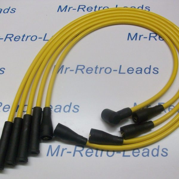 Yellow 8mm Performance Ignition Leads To Fit.. Lotus Excel Esprit 2.0 Quality Ht