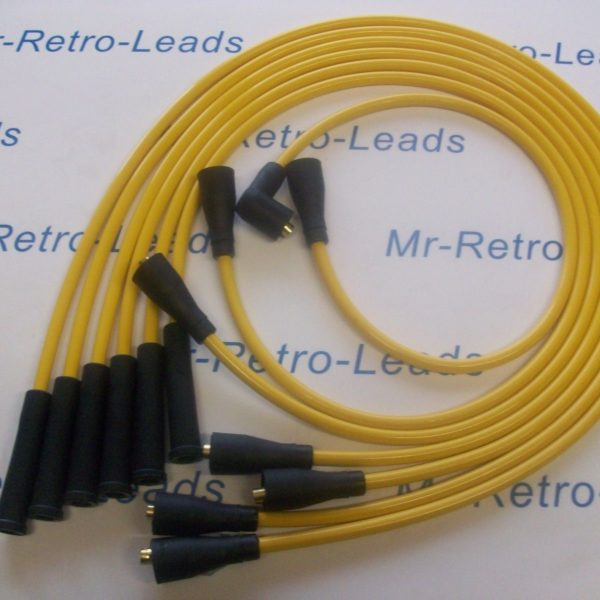 Yellow 8mm Performance Ignition Leads To Fit Datsun 240z 260z Quality Ht Leads