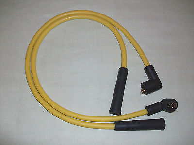 Yellow 8mm Performance Ignition Leads Citroen 2cv Kit Quality Built Ht Leads