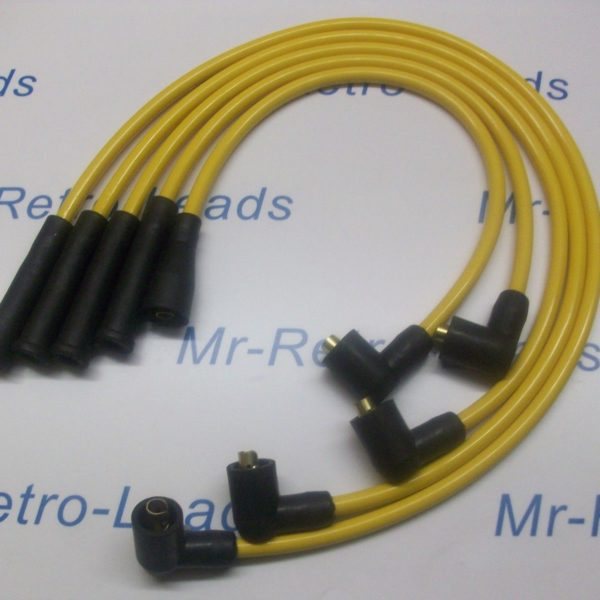 Yellow 8mm Performance Ignition Leads For Vauxhall Nova 1.3 1.4 Quality Leads Ht