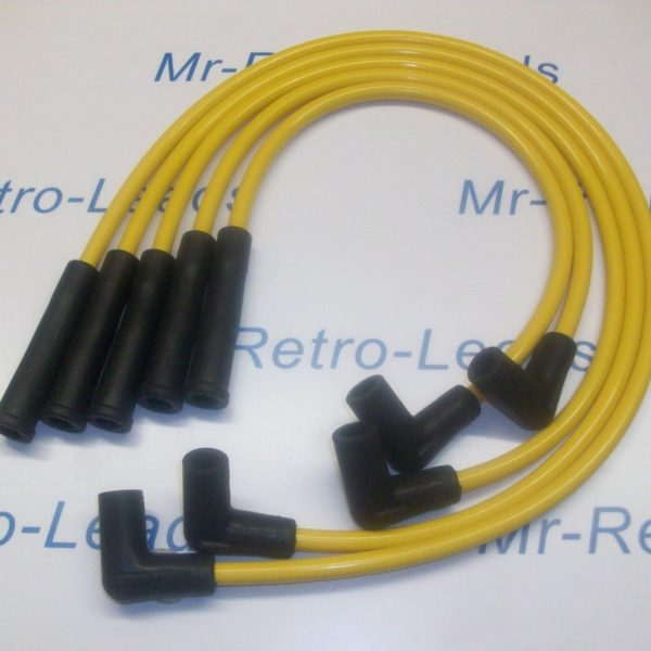 Yellow 8mm Performance Ignition Leads Will Fit Vauxhall Nova 1.3 1.4 Quality Hei