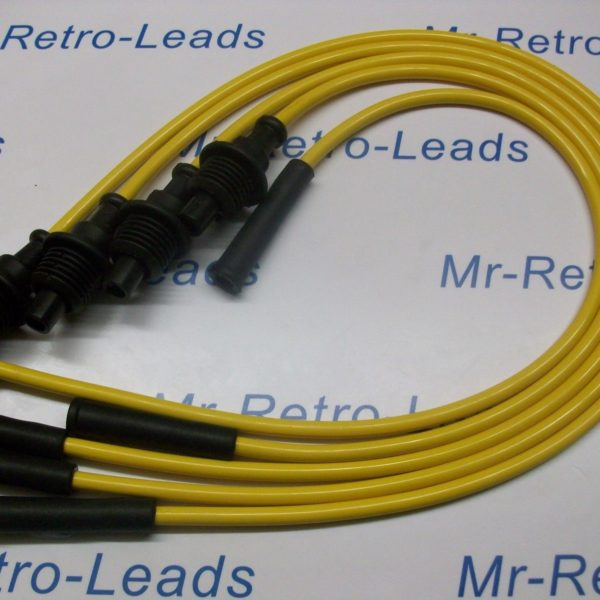 Yellow 8mm Performance Ignition Leads Renault Clio 1.8i Rsi 8v 19 1.8i Cabriolet