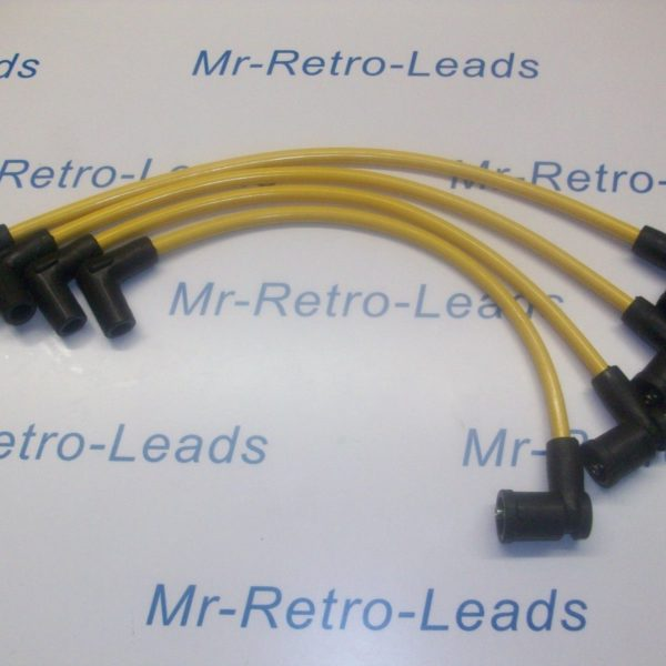 Yellow 8mm Performance Ignition Leads Mazda Rx-8 Rx8 231 192 Ps D585 Coil Pack..