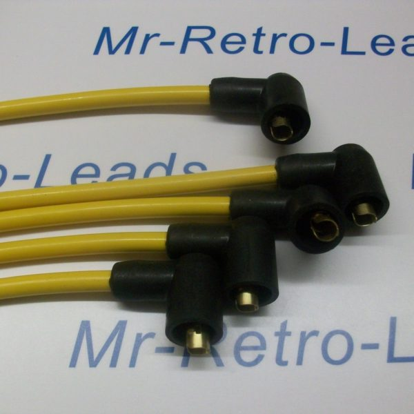Yellow 8mm Performance Ignition Leads Triumph Spitfire 1.3 1.5 Quality Ht Leads