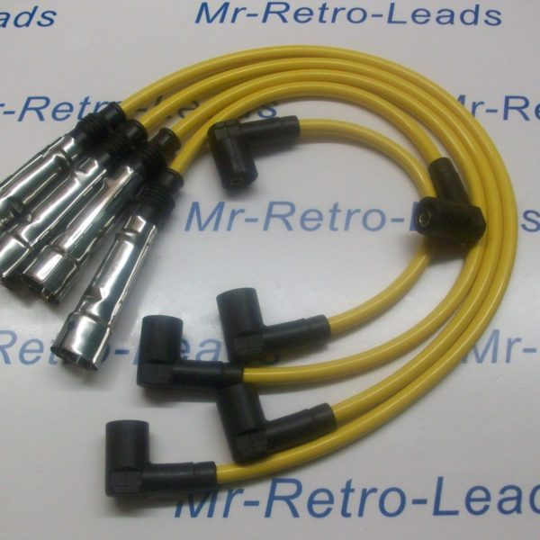 Yellow 8mm Performance Ignition Leads To Fit Porsche 924 Gt 2.0 Turbo Hand Built