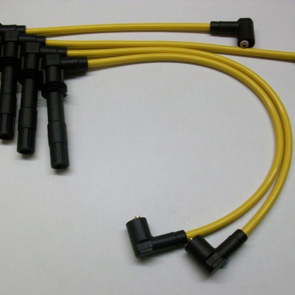Yellow 8mm Performance Ignition Leads Audi A2 1.4 Seat Arosa 1.4 1.6 16v Quality